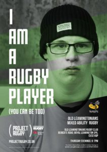 project rugby poster